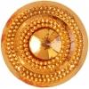 Glitz Sew-on Stone 10pcs Round 45mm Gold